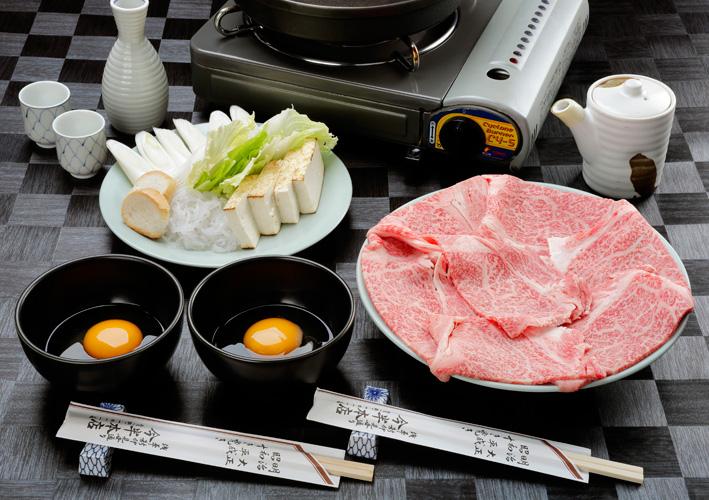 High grade sukiyaki
